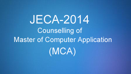 JECA 2014 Counselling