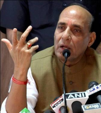Rajnath Singh Done meeting for making startegies for the Maoists