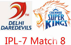 IPL 2014 Eighth Match  DD vs CSK