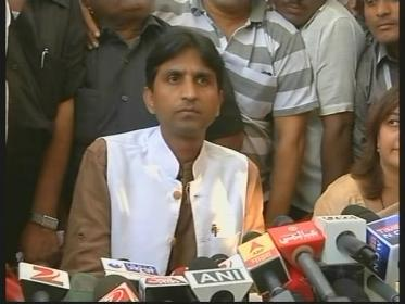 Kumar Vishwas confident of AAP win in Amethi