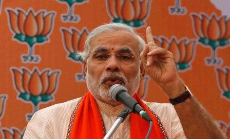 Modi accuses EC of being partial and biased