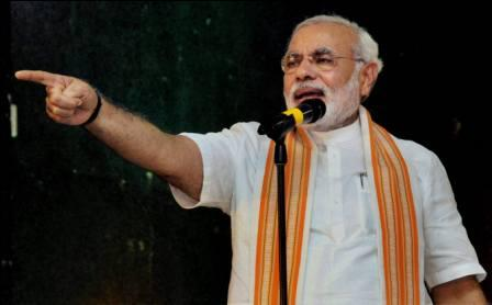 Modi says all political parties in India, except BJP, are controlled by Sonia Gandhi