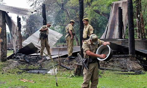 Assam Ethic killing and 8 forest guards arrested
