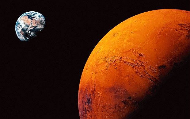 Red planet Mars all set to be the next fashion ramp