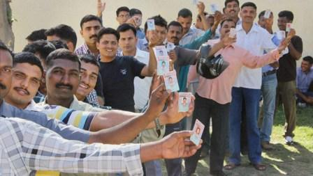 Varanasi records 20 percent polling in first two hours