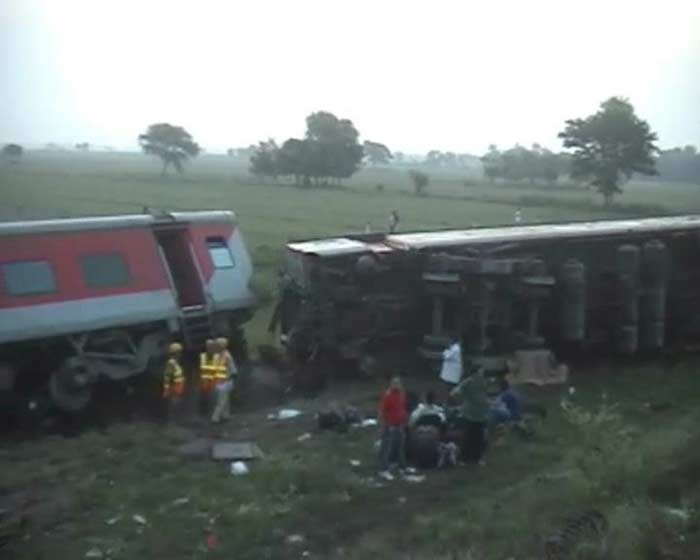 Four dead, eight injured as Delhi-Dibrugarh Rajdhani derails