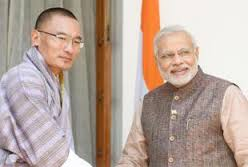 Mr. Modi's first foreign visit of Bhutan as a prime minister