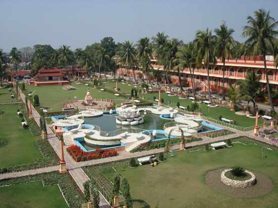 Mayapur, famous for Sonar Gouranga temple