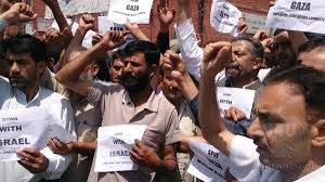 Several parts of Kashmir witness protests on Eid ul-Fitr