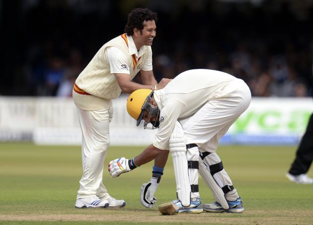 Sachin led MCC won against Warne's ROW