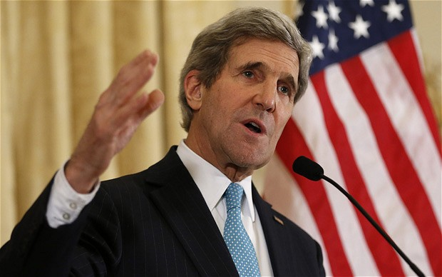 John Kerry states: airstrikes alone won't defeat ISIS militants