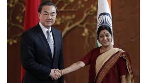 Sushma Swaraj meets Singapore PM Lee Hsien Loong