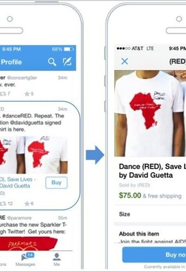 """Twitter is planning to enter ecommerce segment with """"buy"""" button"""