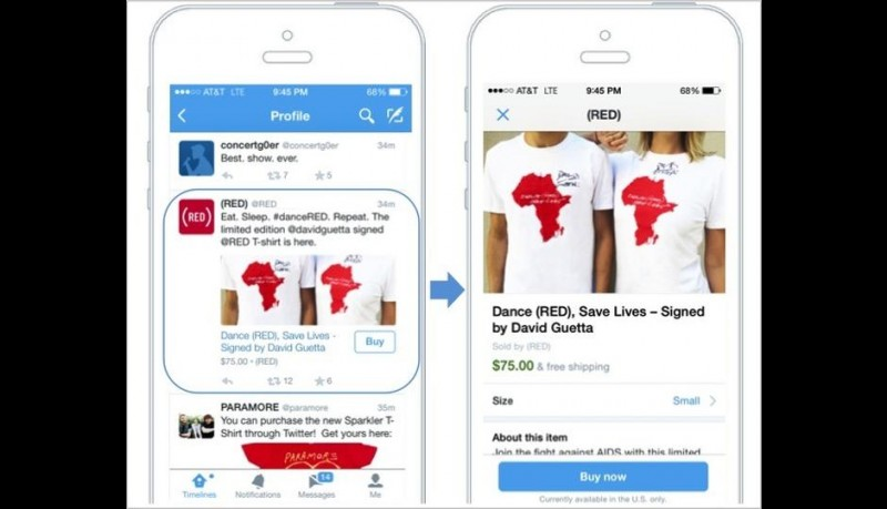 "Twitter is planning to enter ecommerce segment with ""buy"" button"