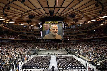Modi Blockbuster at the iconic MSG in New York on Sunday