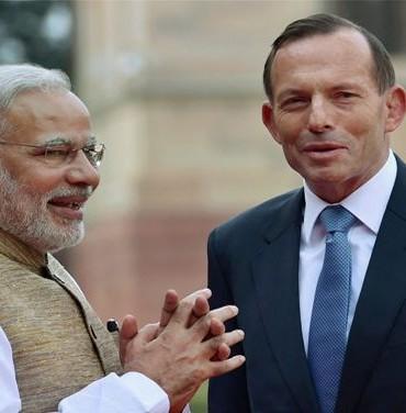 Prime Minister Modi, gifted a copy of BHAGVAT GITA to his Australian counterpart PM Tony Abbott.