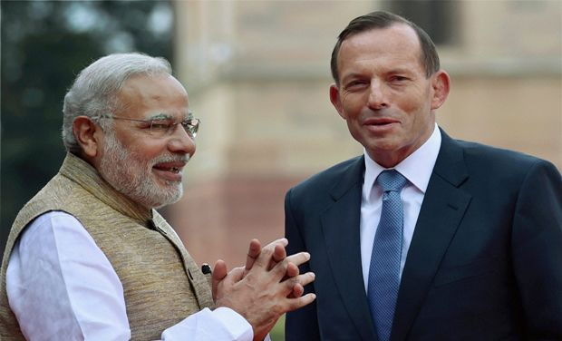 Prime Minister Modi, gifted a copy of BHAGVAT GITA to his Australian counterpart PM Tony Abbott.
