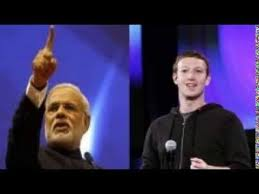 Facebook founder Mark Zuckerberg in India to meet PM Modi today