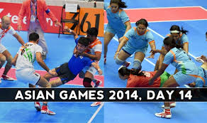Double kabaddi gold for India at Asian Games 2014