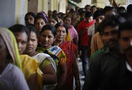 Long Queues at Polling Booths as Maharashtra and Haryana Vote