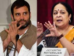 Jayanthi Natarajan to quit Congress today, blames Rahul Gandhi for her exit