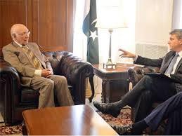 Pakistan will not start talks with India without Kashmir : Sartaj Aziz
