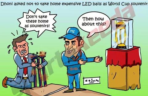 ICC World Cup 2015: Players not allowed to take the stumps after their victory