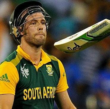 AB de villiers beat WI by 11 runs….