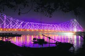 Howrah Bridge Celebrating 72th Birthday