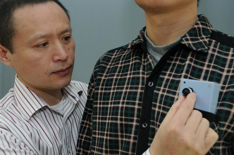 Wearable Device Helps the Visually Challenged Avoid Collisions