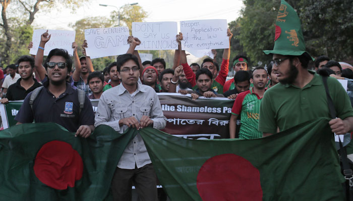 Bangladesh overreacts loosing QF