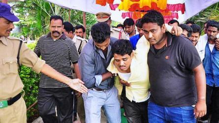 Bridegroom beaten up on wedding day