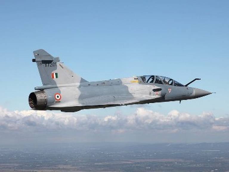 Two Indian Mirage 2000 I/TI delivered to Indian authorities