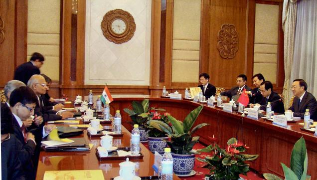 India, China hold border talks