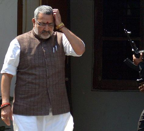 Bihar court orders FIR against Giriraj Singh