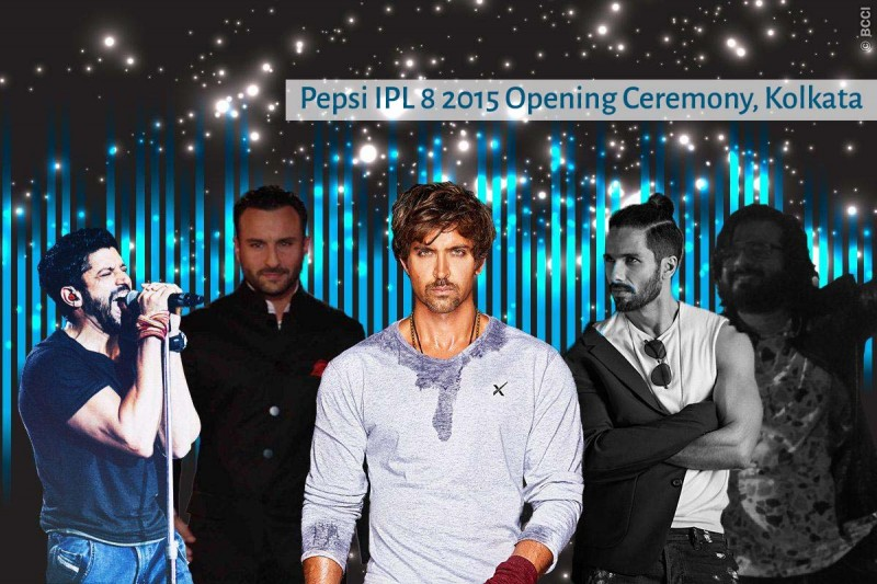 Bollywood Stars are in kolkata for IPL opening