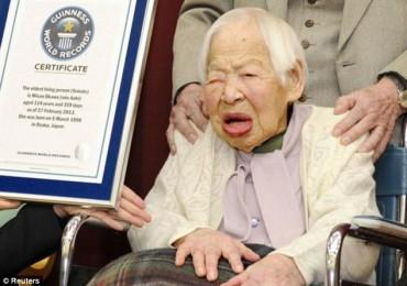 World's oldest person dies – Misao Okawa