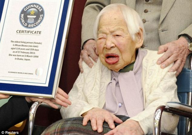 World's oldest person dies – Misao Okawa