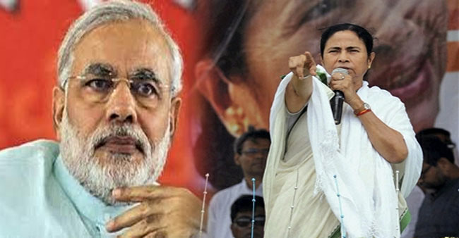Modi has no brains: Mamata Banerjee said at Kolkata rally .