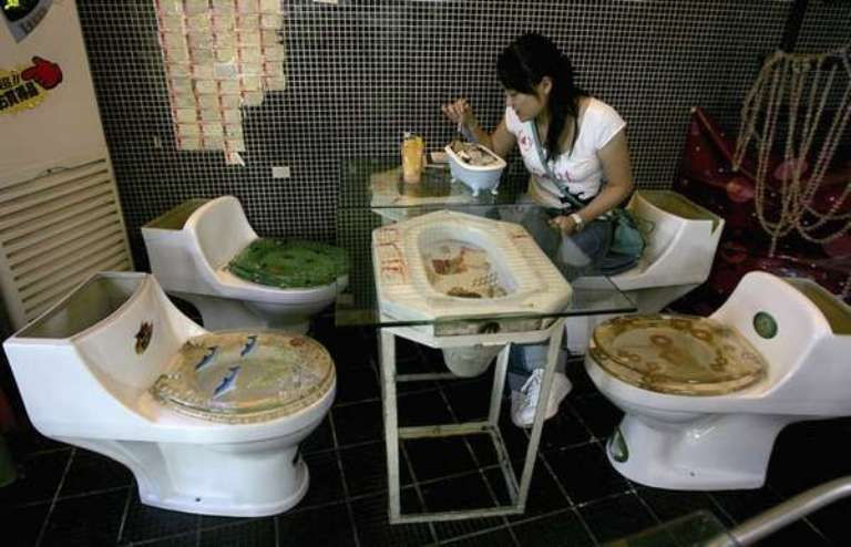The world's most bizarre restaurants