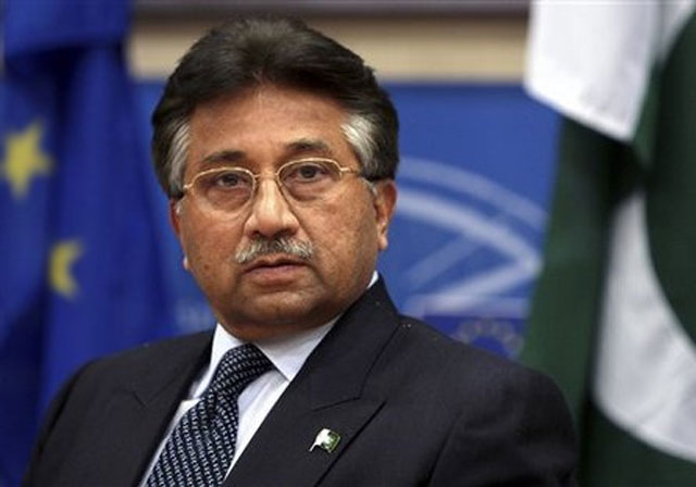 Arrest warrant against Pervez Musharraf