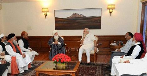 PM Modi promises support to Muslims