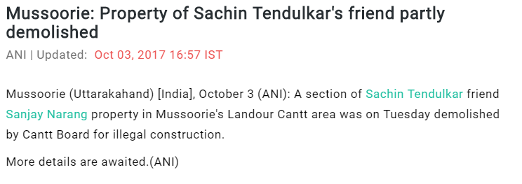 Sachin-news